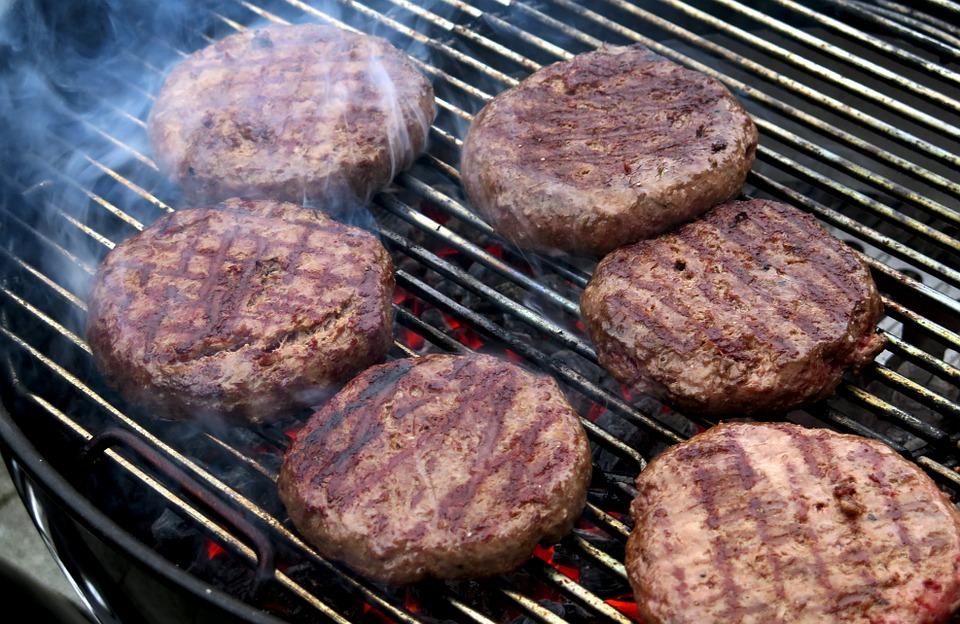 hamburger griglia