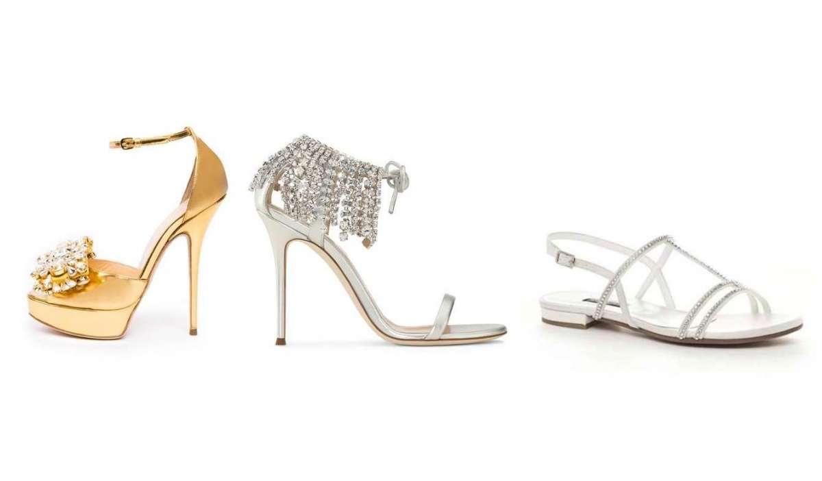 484a6d69d27f3e Sandali gioiello bassi, alti, argento e oro: i modelli più belli ...