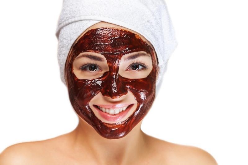 maschera viso cacao