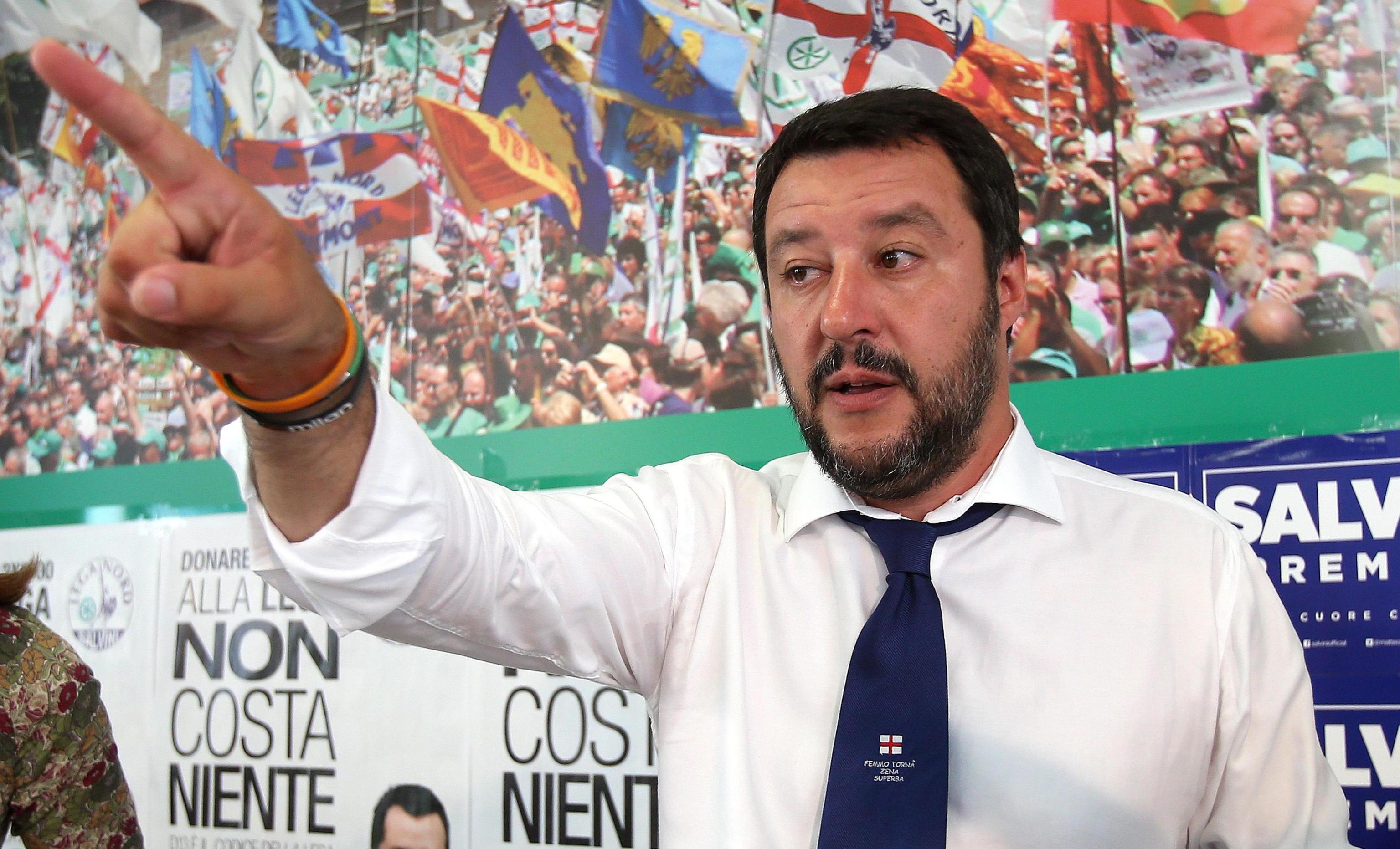 Matteo Salvini parla del tradimento di Elisa Isoardi