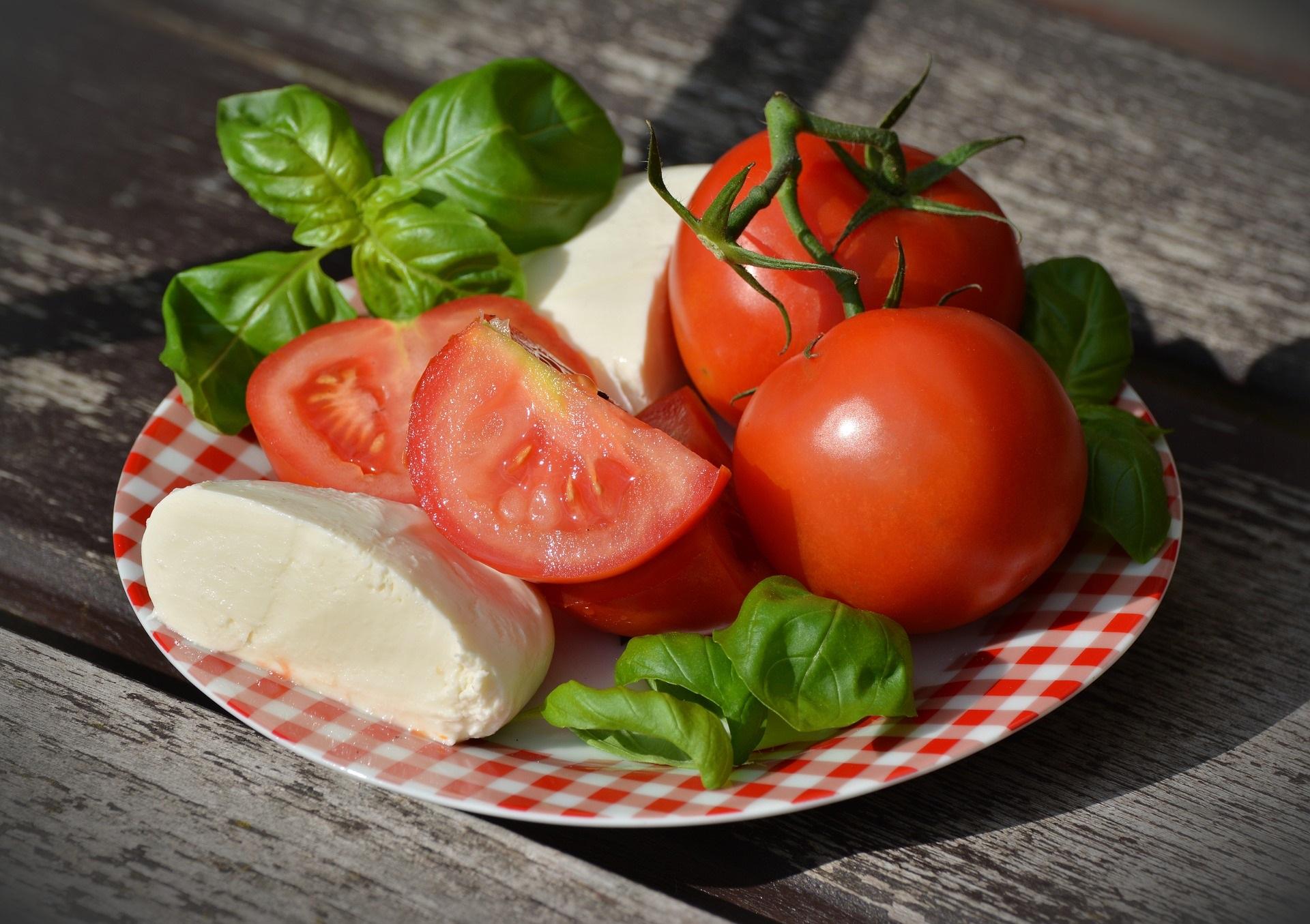pomodori e mozzarella
