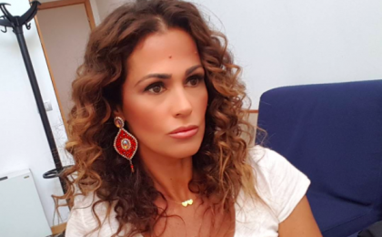 Samantha De Grenet, le vacanze in Sardegna