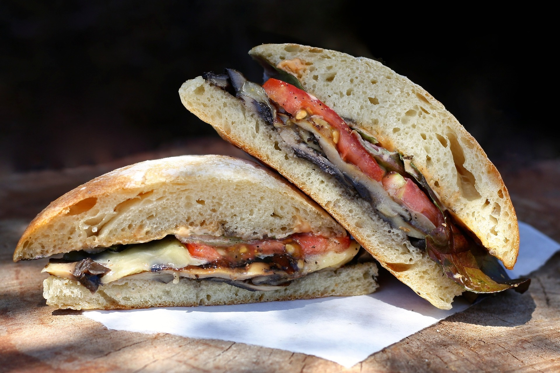 sandwich pomodoro radicchio
