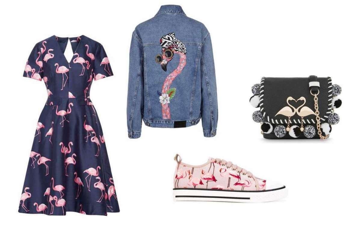 È flamingo mania: abbigliamento e accessori con fenicotteri per l'estate