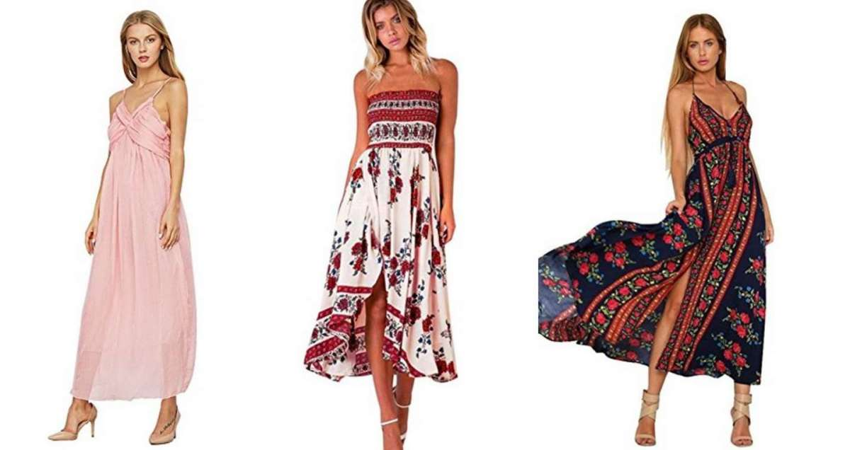 I vestiti lunghi estivi più belli da comprare online a prezzi vantaggiosi