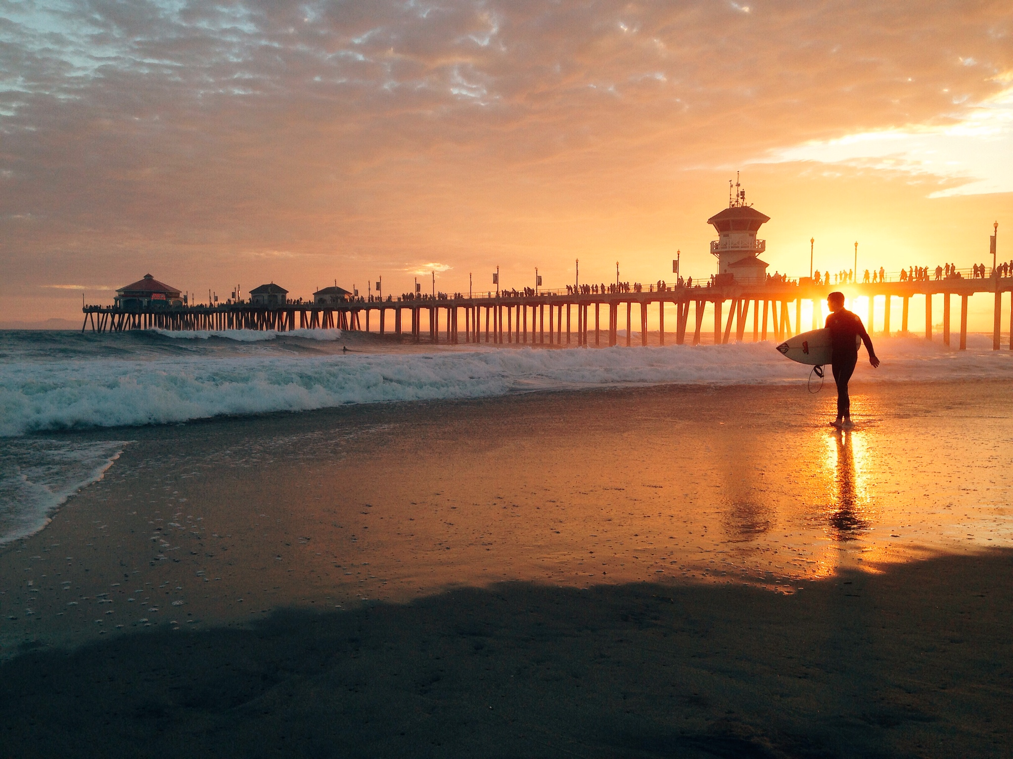 Huntington Beach in California