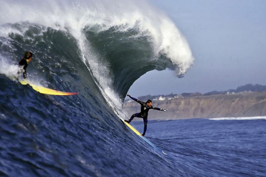 Mavericks in California