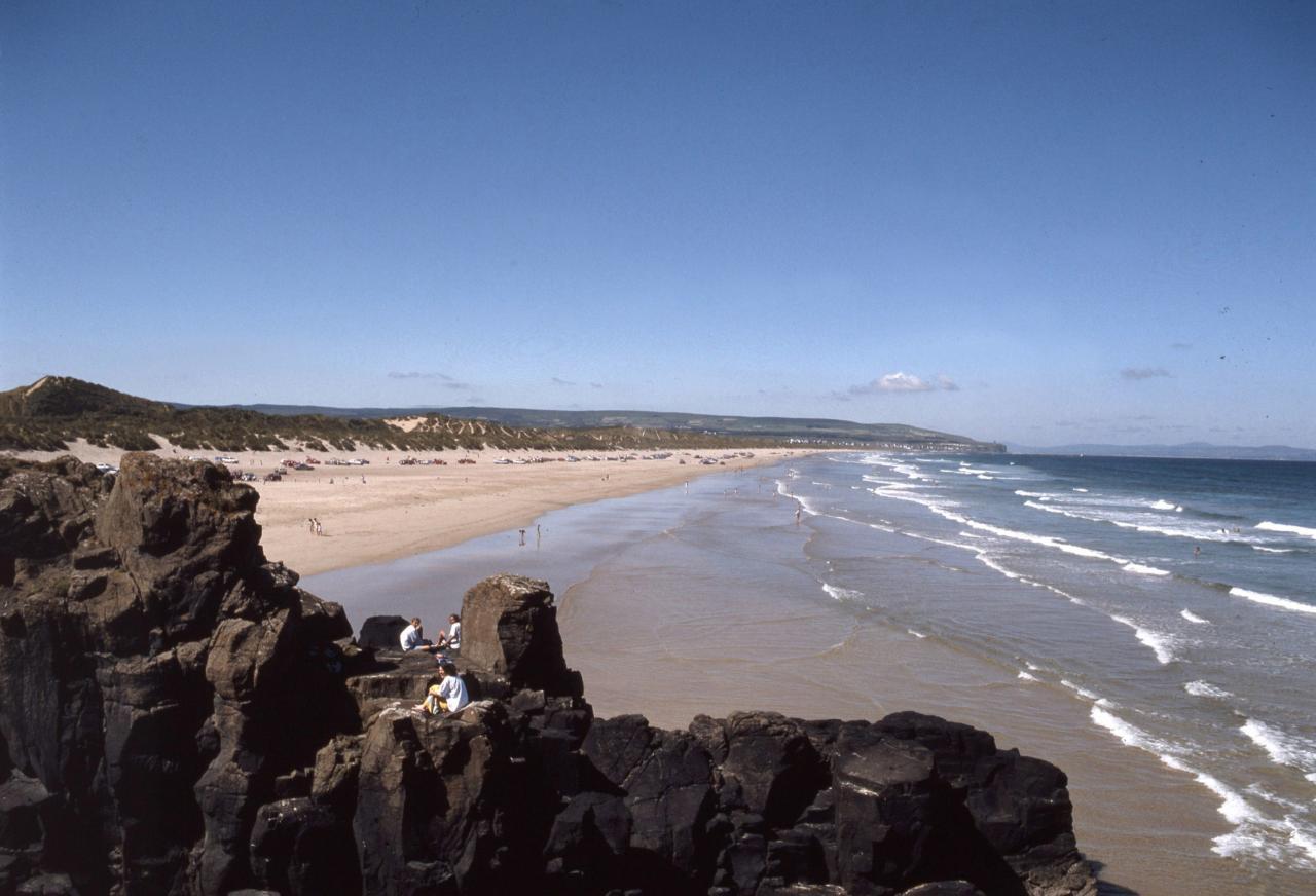 Portstewart Strand in Irlanda