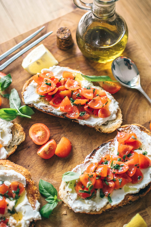 bruschetta dieta mediterranea