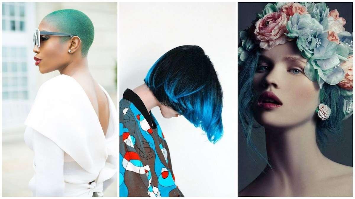 Capelli turchesi: a chi stanno bene e i look più belli