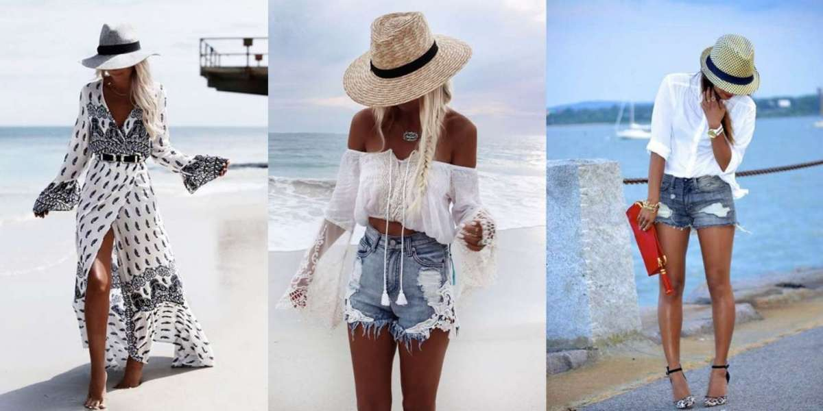 Cappelli di paglia per il mare i più belli e di moda