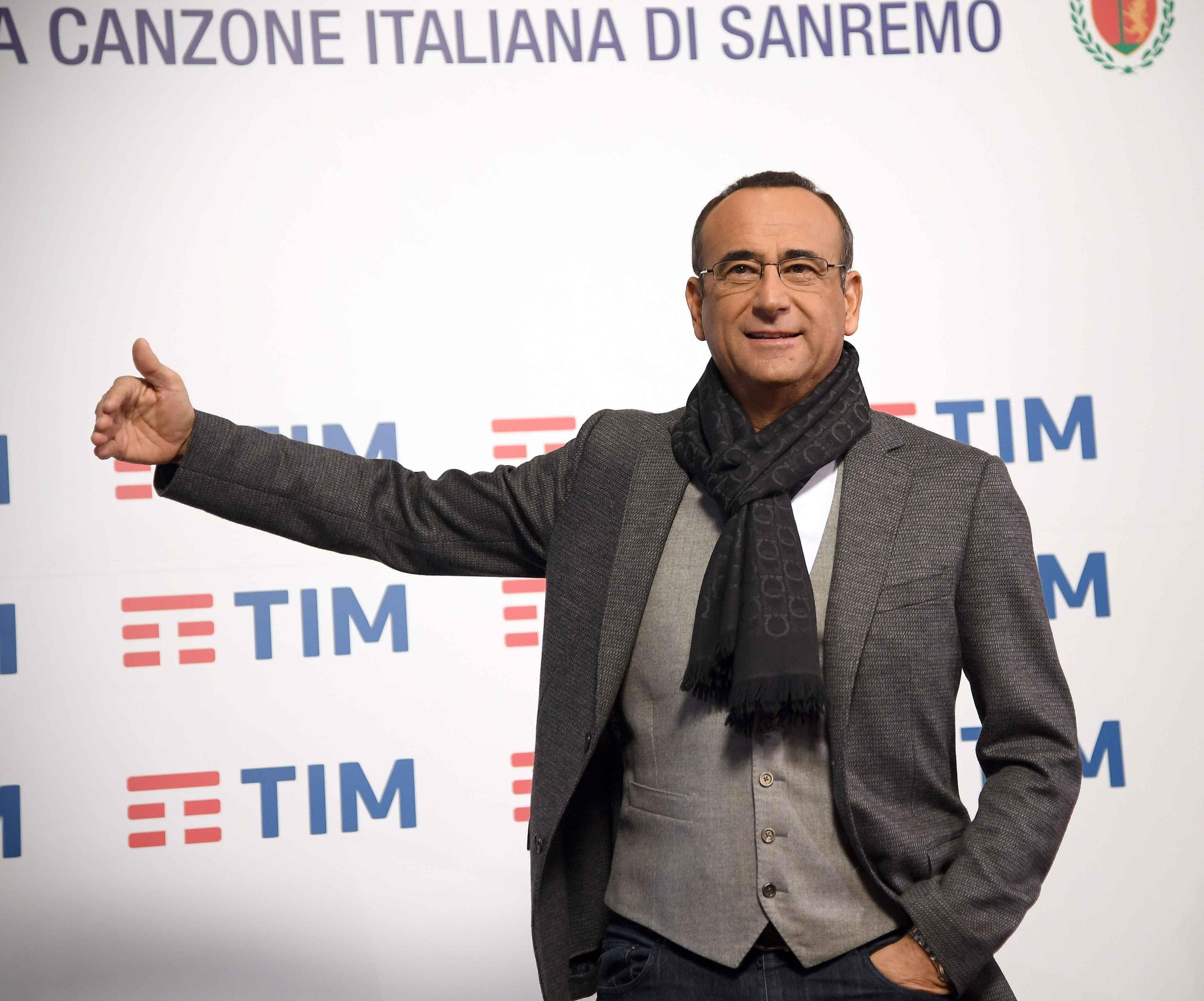 Festival di Sanremo 2018 a Carlo Conti: bocciati Fabrizio Frizzi e Fabio Fazio