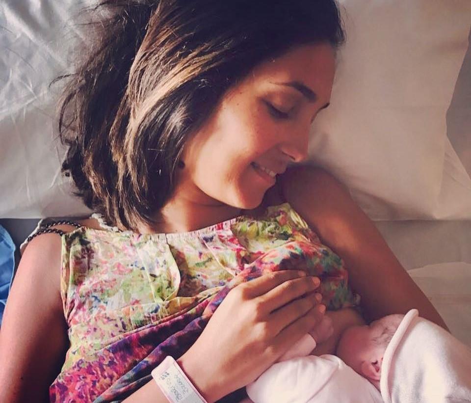 Caterina Balivo è mamma bis: è nata la figlia Cora