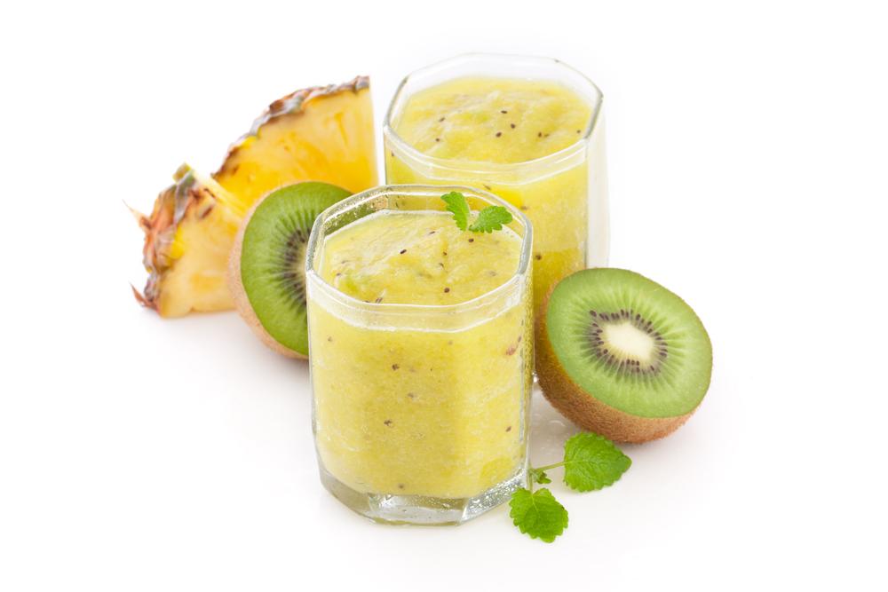 centrifugato ananas kiwi