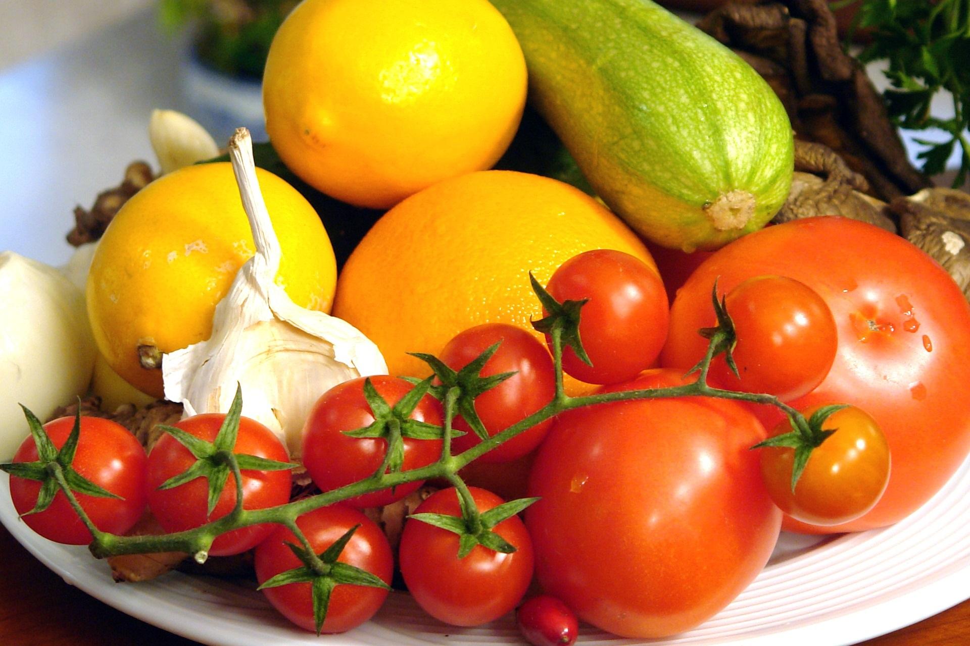 Dieta dei colori: le ricette per un menu completo