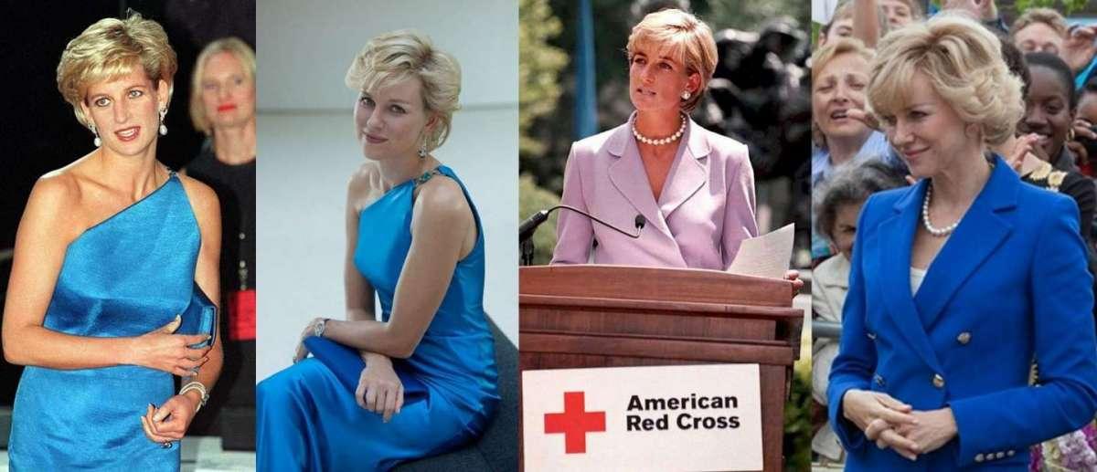 Lady Diana: tutti i look del film e della vita da principessa