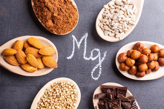 magnesio per il mal di testa da ciclo