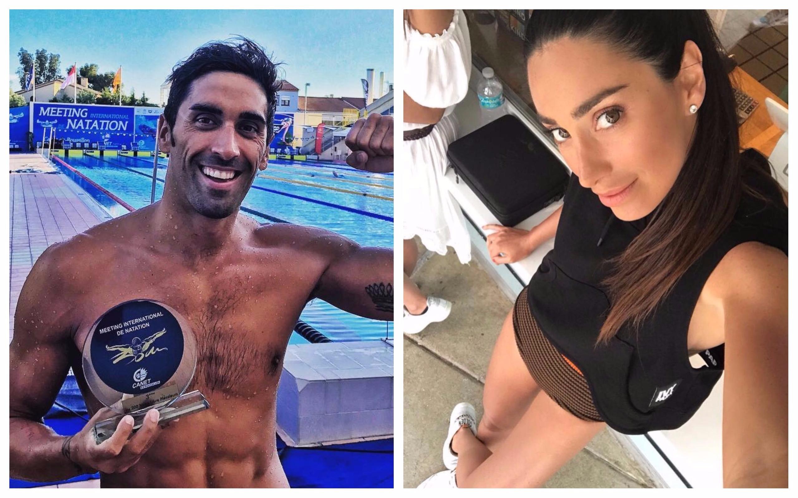 Filippo Magnini dimentica Federica Pellegrini con la ex di Gianluca Vacchi Giorgia Gabriele?