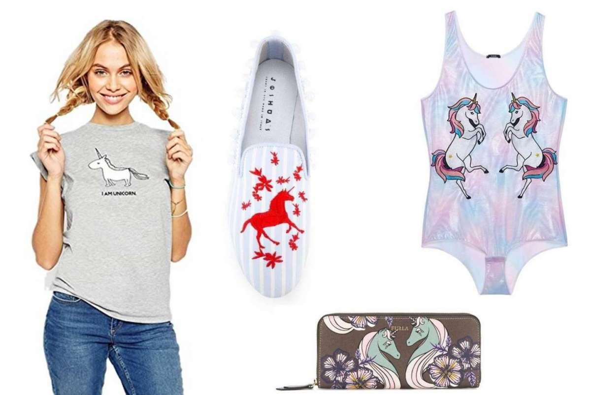 È unicorno mania: vestiti e accessori di tendenza per l'estate