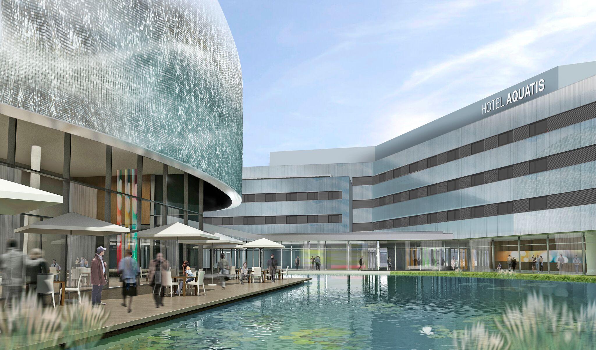 AQUATIS_Hotel & Centro Congressi e l'Aquarium Vivarium_©Richter Dahl Rocha & Associés