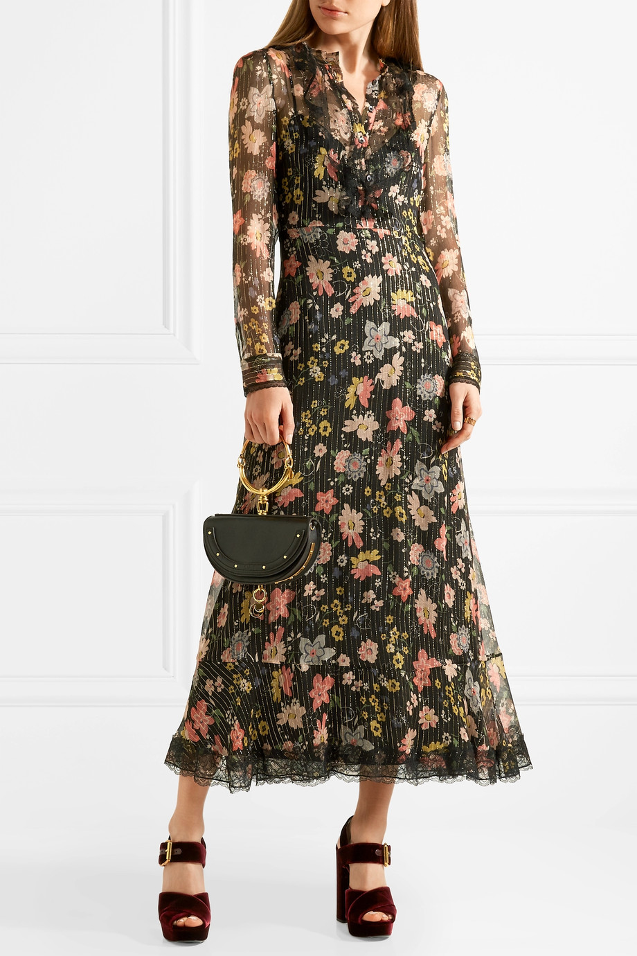 Abito tapestry Red Valentino