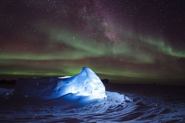Aurora australe Antartide