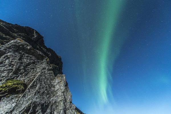 Aurora boreale Norvegia