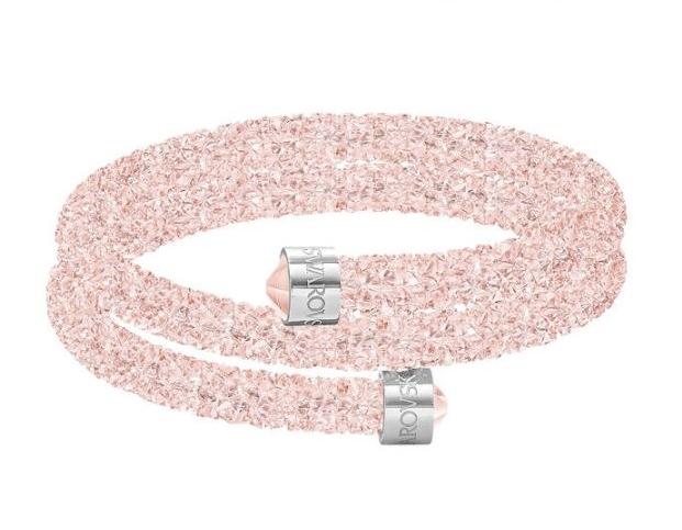 Bracciale rigido Crystaldust rosa