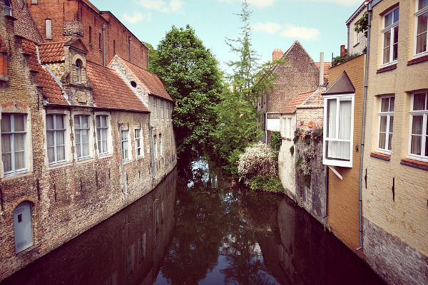 Bruges autunno città