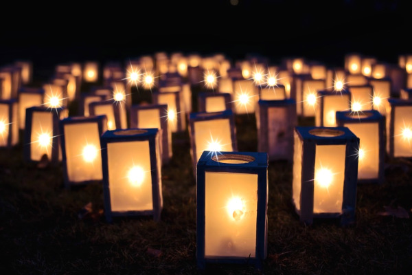 Lanterne zen giardino