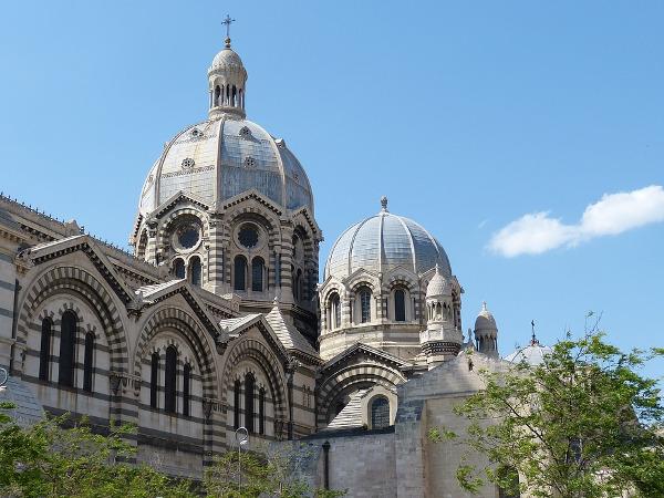 Marsiglia cattedrale città