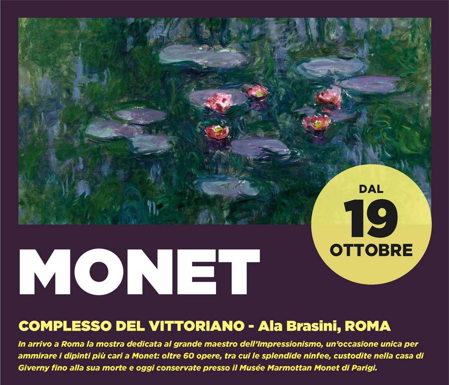 Monet a Roma