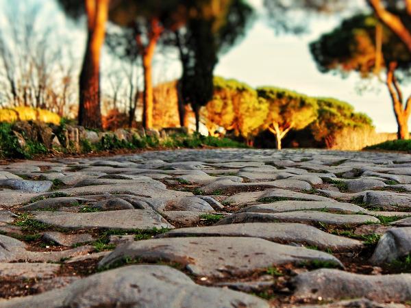 Roma autunno città