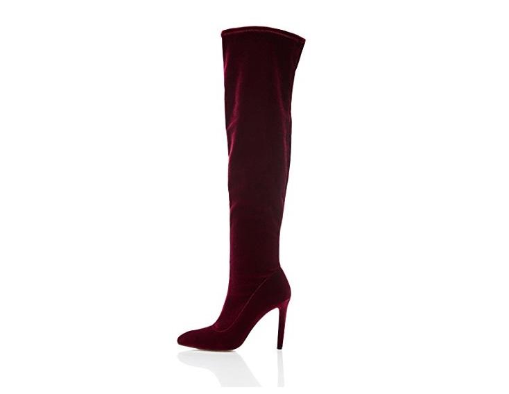 Stivali cuissard sopra il ginocchio