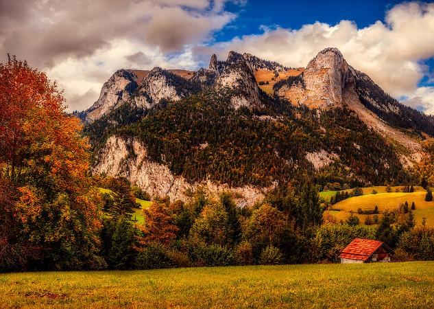 Svizzera panorama clima