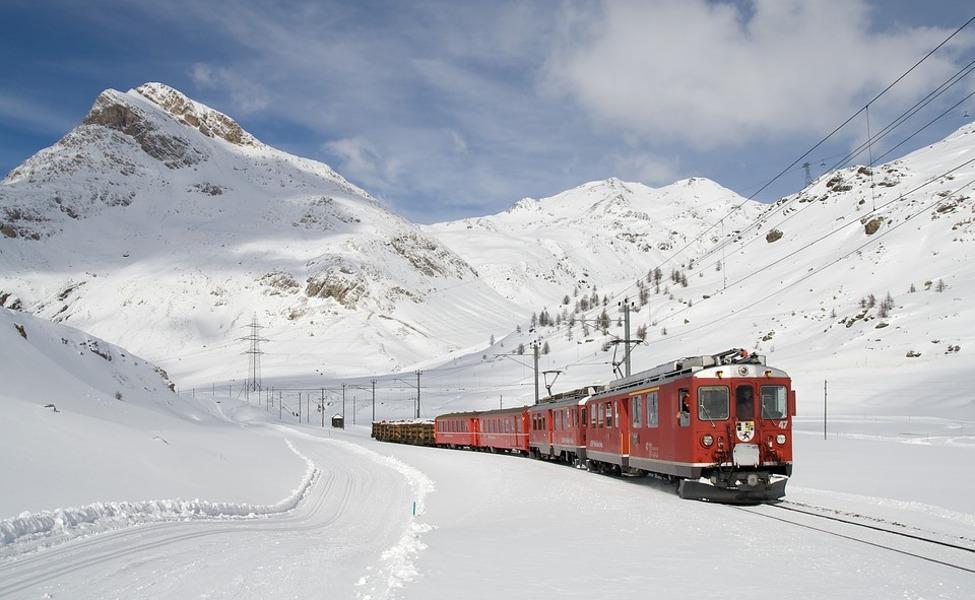 Svizzera viaggio treno