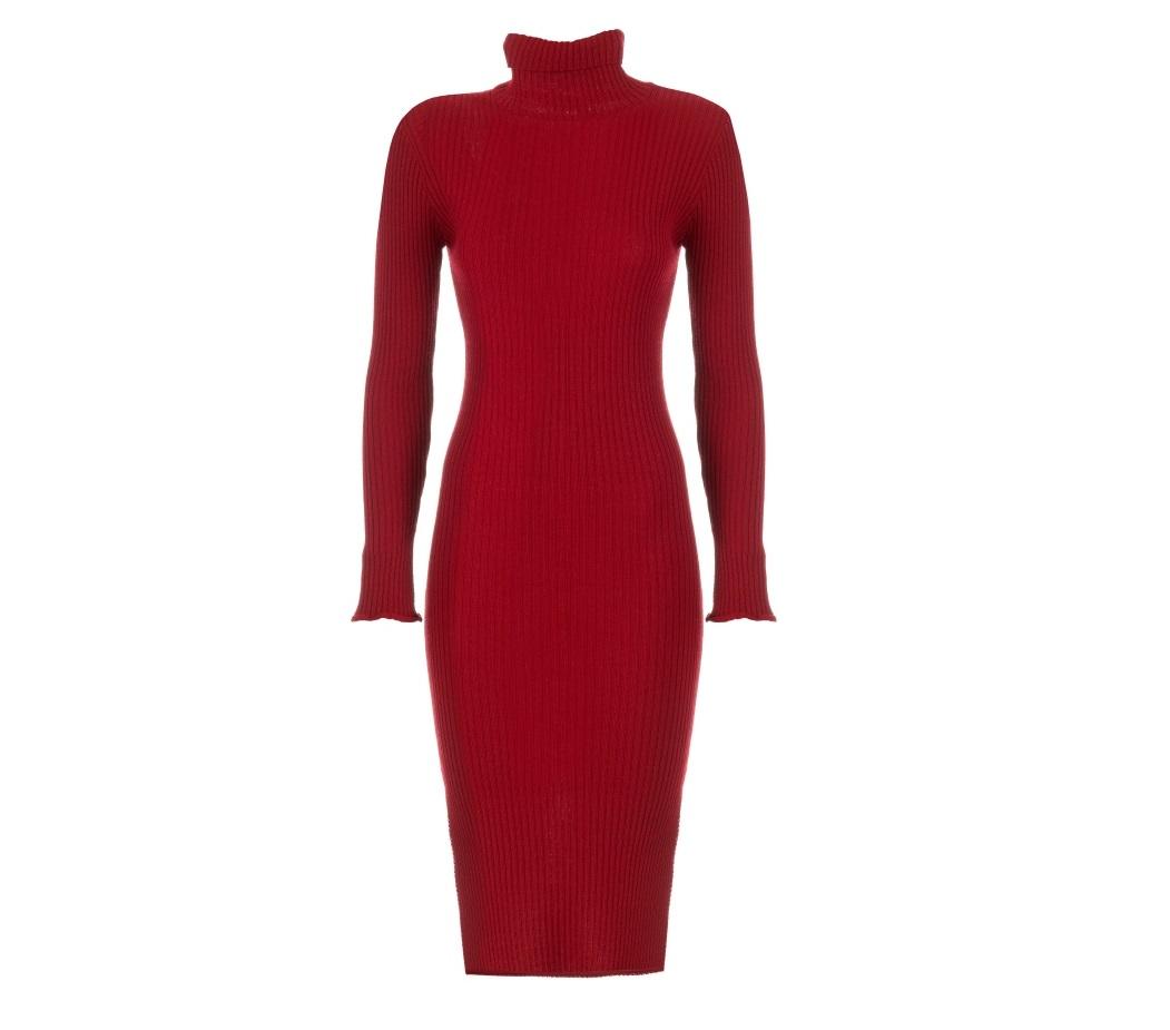 abito rosso motivi