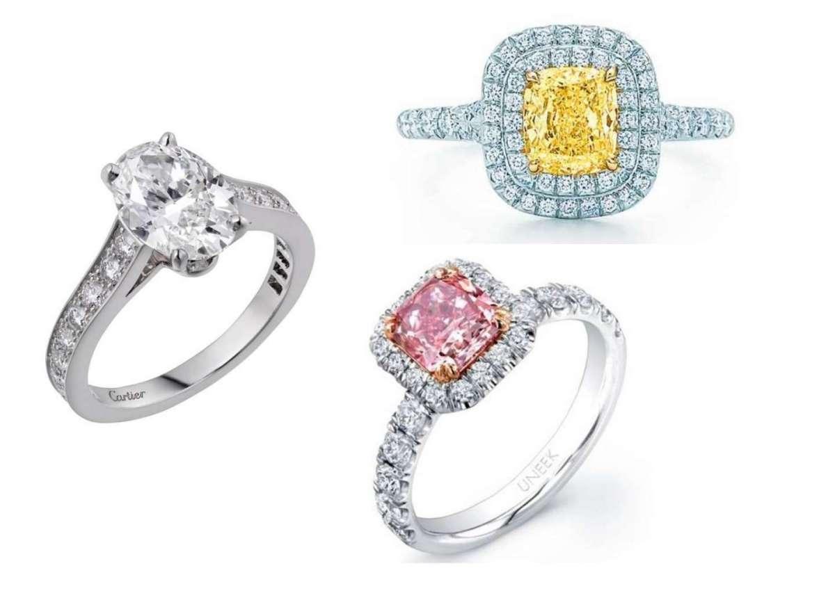 Anelli di fidanzamento con diamante, solitari e trilogy: i più belli
