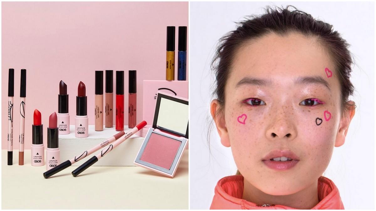 Asos lancia la sua nuova linea di make up