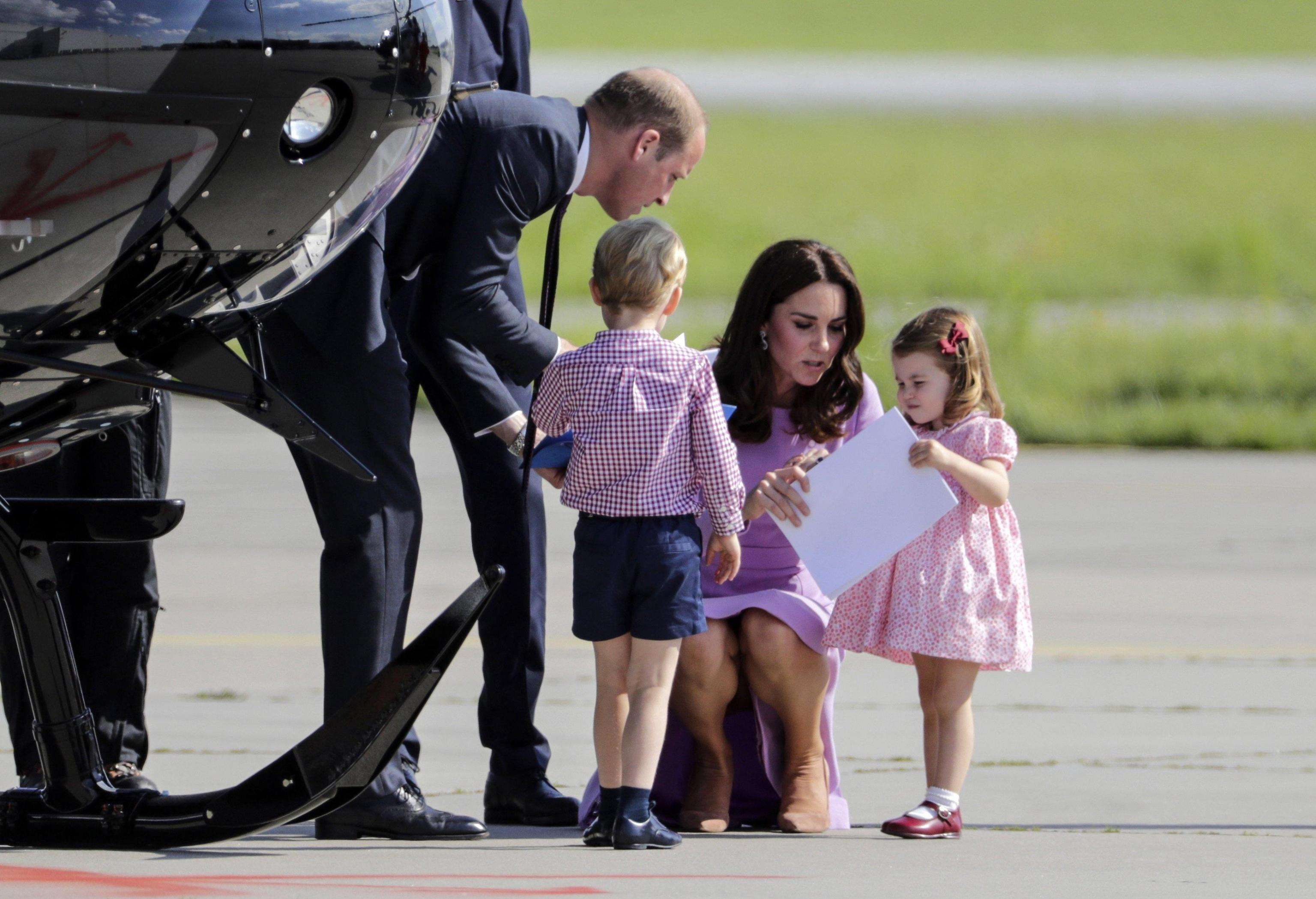 Duke and Duchess of Cambridge visit Germany