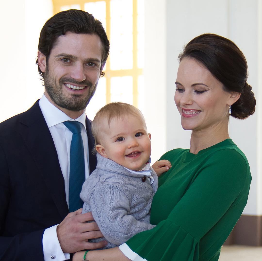 Carl Philip di Svezia e Sofia Hellqvist di nuovo genitori: è nato il secondo figlio