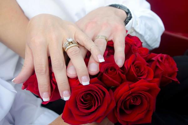cerimonia rosa matrimonio