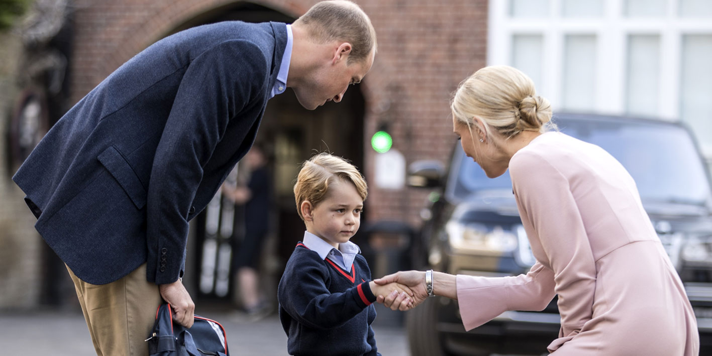 Il Principe George a scuola: vietato al royal baby di avere un migliore amico