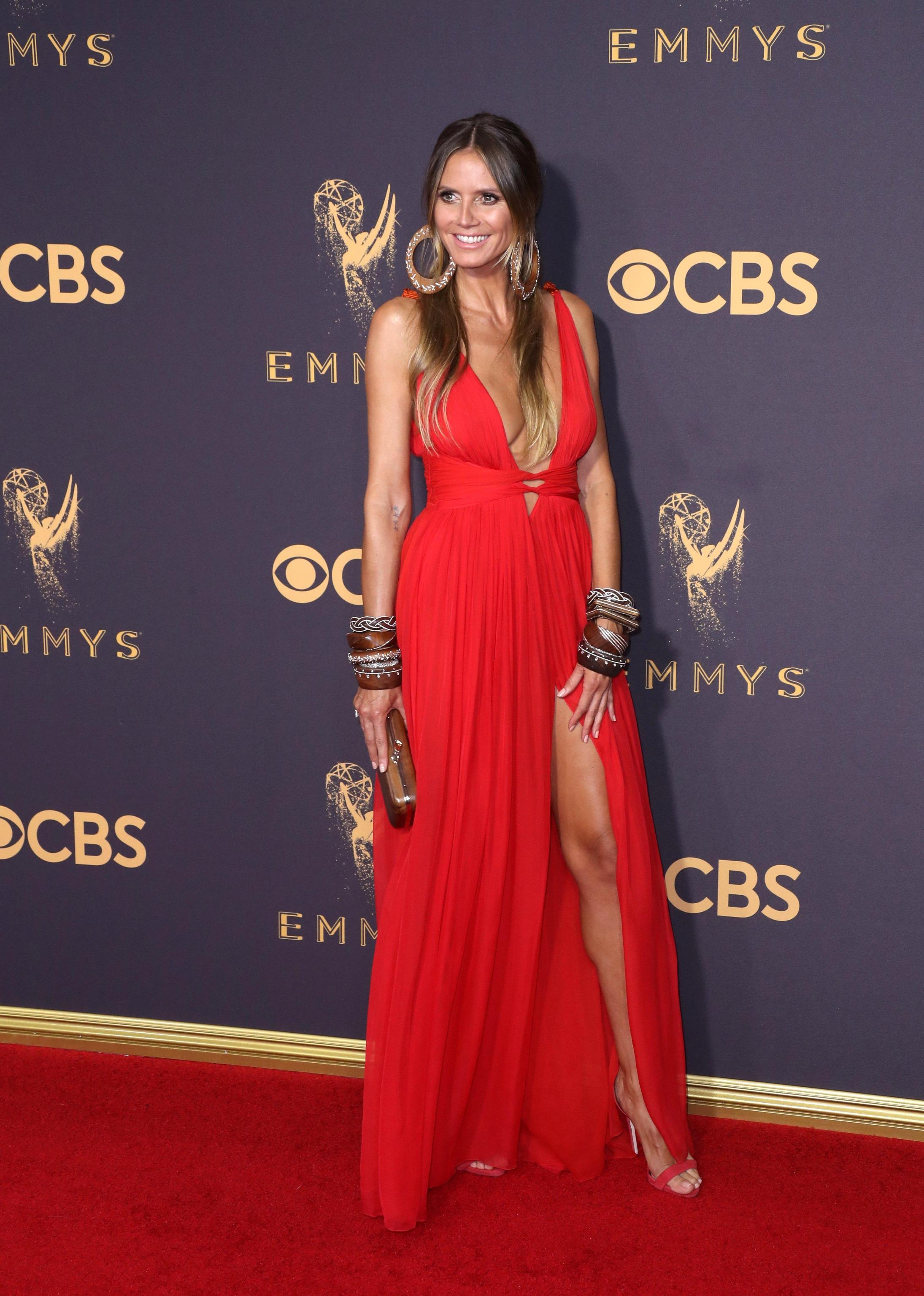 Arrivals 69th Primetime Emmy Awards