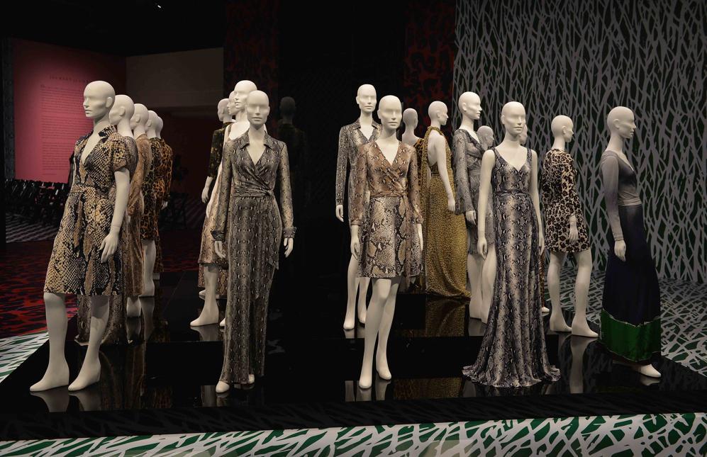 Diane Von Furstenberg's Journey Of A Dress Exhibition Opening Celebration Press Conference