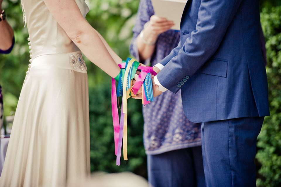 il rito dei nastri per il matrimonio
