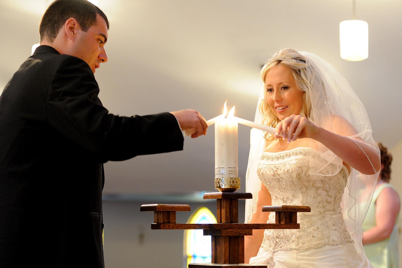il rito delle candele per il matrimonio