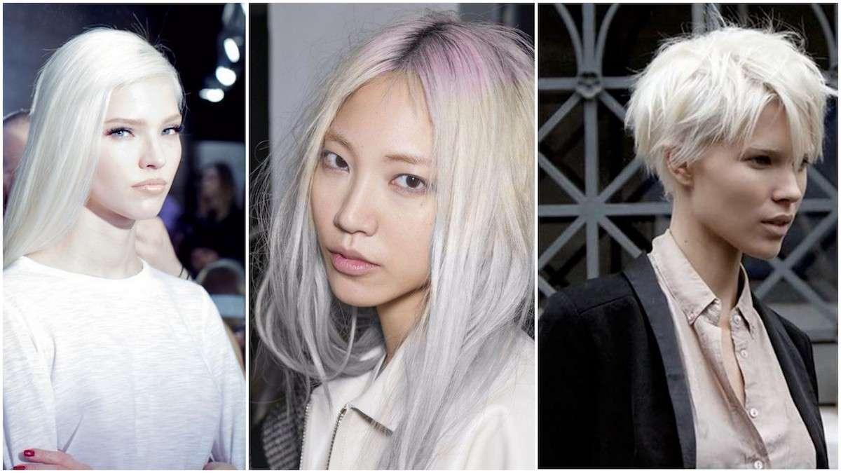 Come portare i capelli bianchi con stile