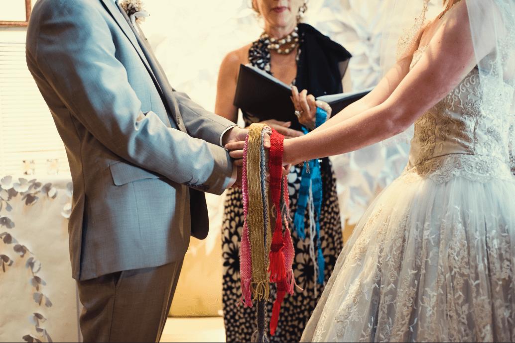 rituale dei nastri matrimonio