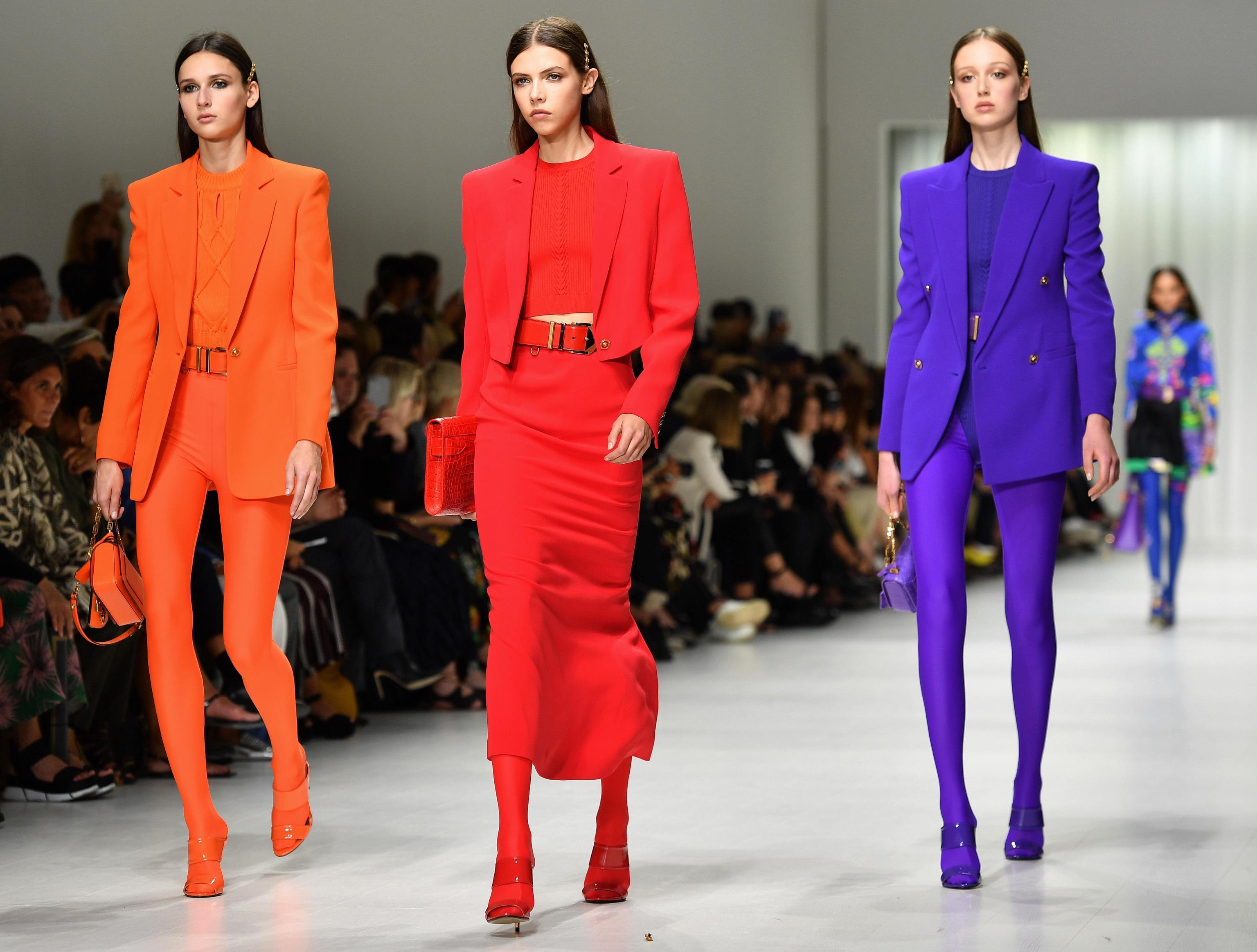 Milan Fashion Week; Versace